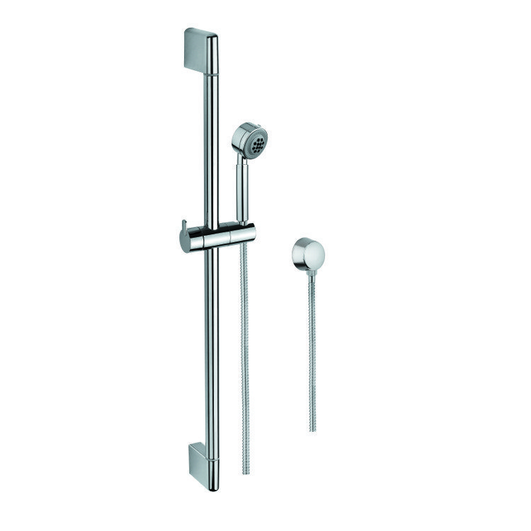 GEDY SUP1093 SUPERINOX HAND SHOWER, SLIDING RAIL, AND WATER CONNECTION IN CHROME