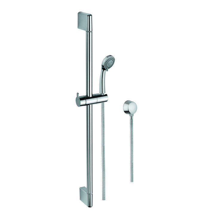GEDY SUP1097 SUPERINOX HAND SHOWER, SLIDING RAIL AND WATER CONNECTION IN CHROME