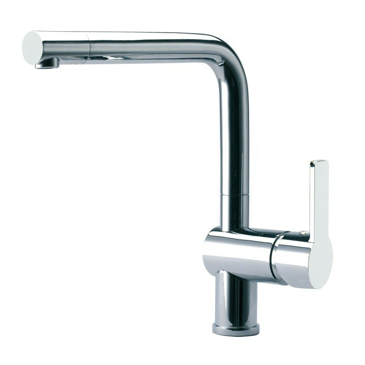 Ramon Soler US-9329 Rs-Q Swivel Spout Kitchen Mixer with Single Hole Single Lever in Chrome