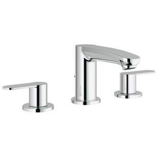 Grohe 2020900A Eurostyle Cosmopolitan 8 Inch Widespread Two-Handle Bathroom  Faucet S-Size