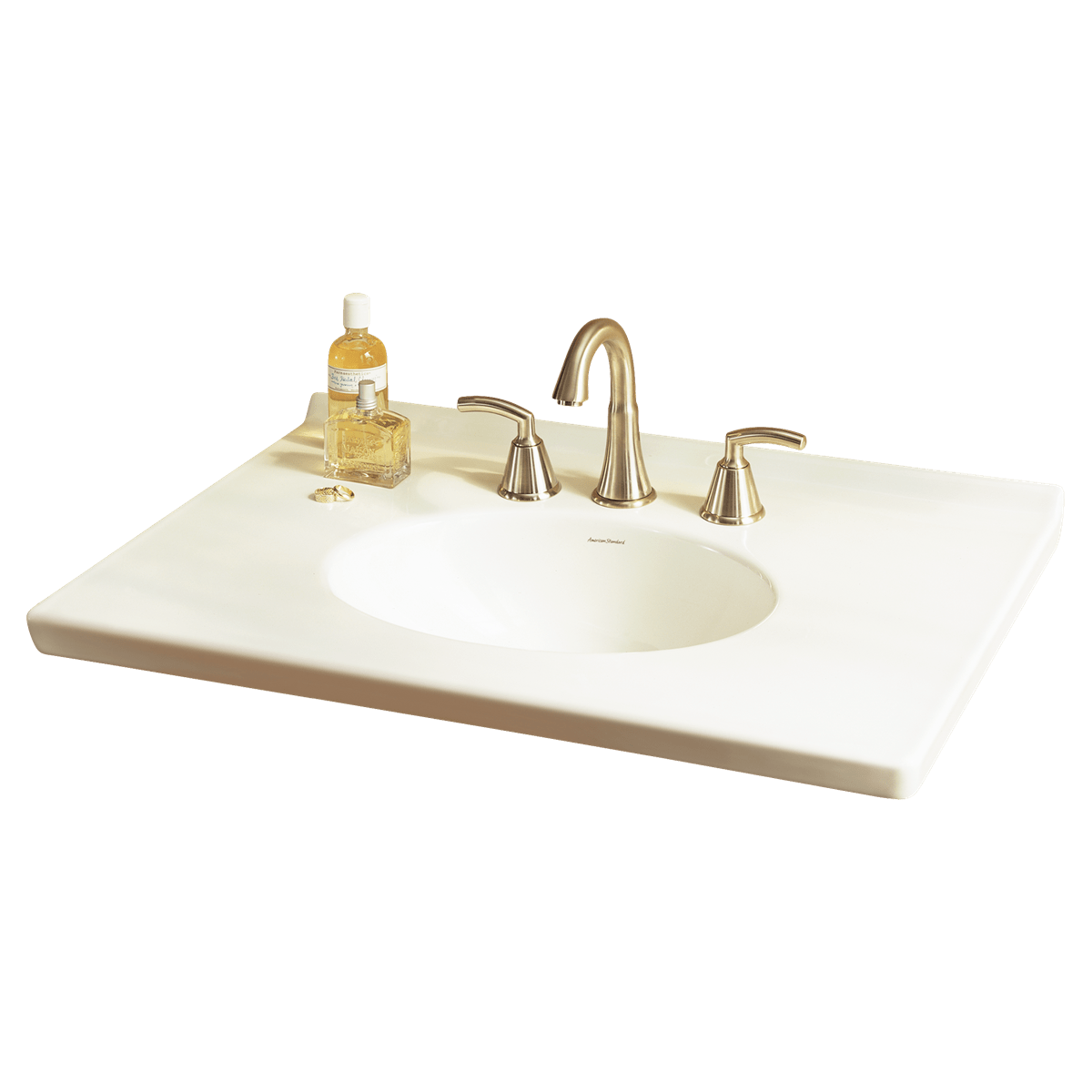 AMERICAN STANDARD 7820.020 PORTSMOUTH 31-1/8 X 22-7/8 INCH VANITY TOP IN WHITE FOR 9210.030 VANITY