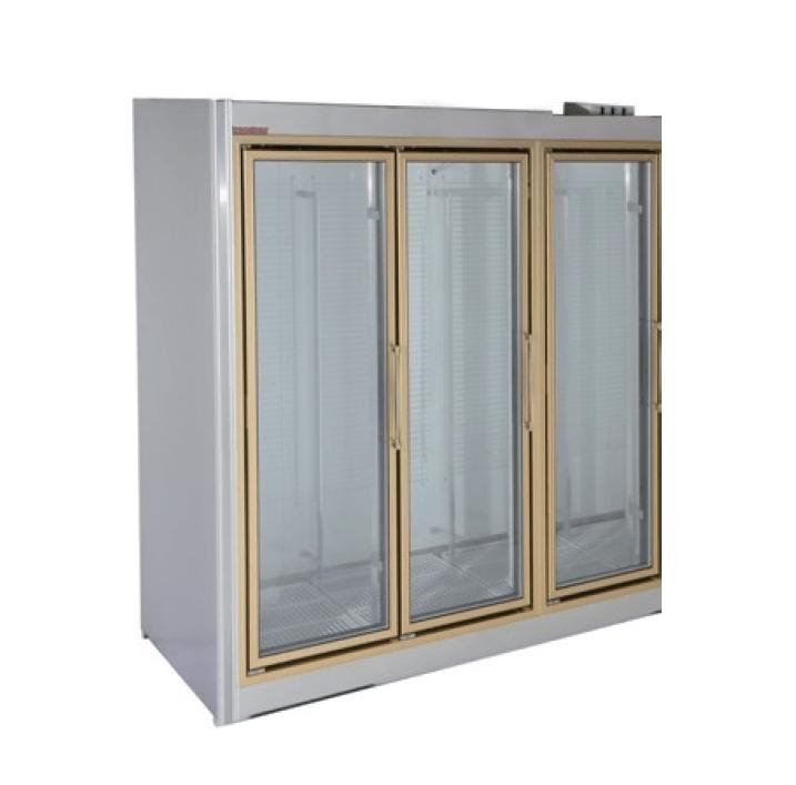 Universal Coolers Adm 3 78 Inch Three Swinging Glass Door Reach In