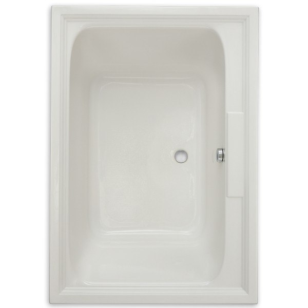 American Standard 2748.002 Town Square 60 x 42 Inch Acrylic Bathtub with Backrests, for Drop-in or Alcove Installation