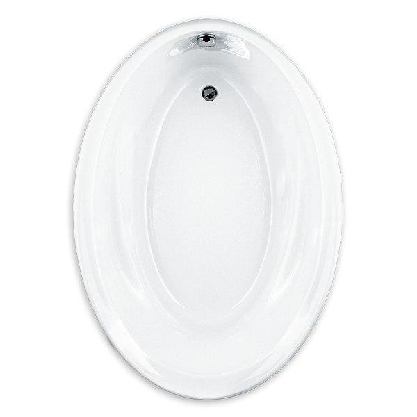 2903.002.020 Savona 60 x 42 Inch Acrylic Oval Bathtub, for Drop-in ...
