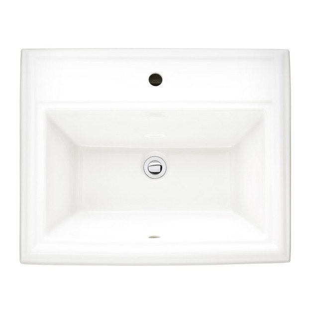 American Standard 0700.001.020 Town Square 18-1/2 Inch FireClay Self ...