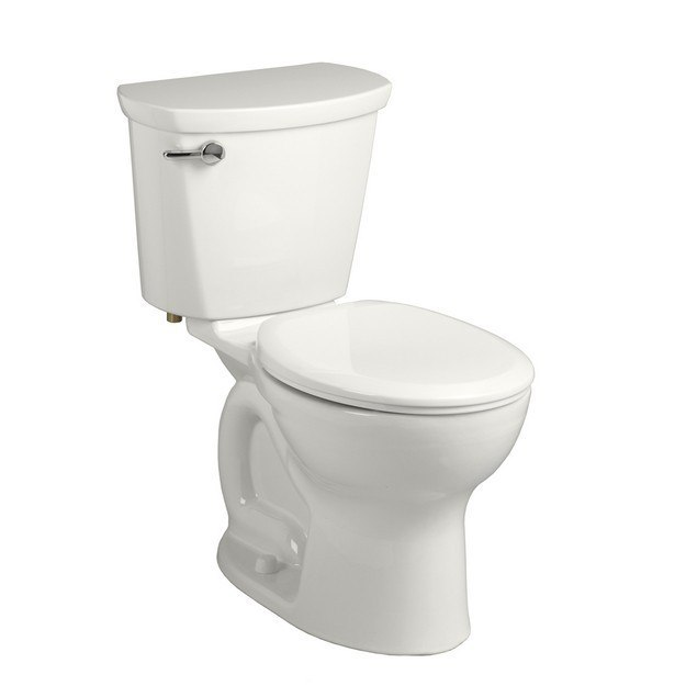 """American Standard 215B.B104.020 Cadet PRO Right Height Round Front 10"""" Rough-In 1.28 GPF Toilet"""