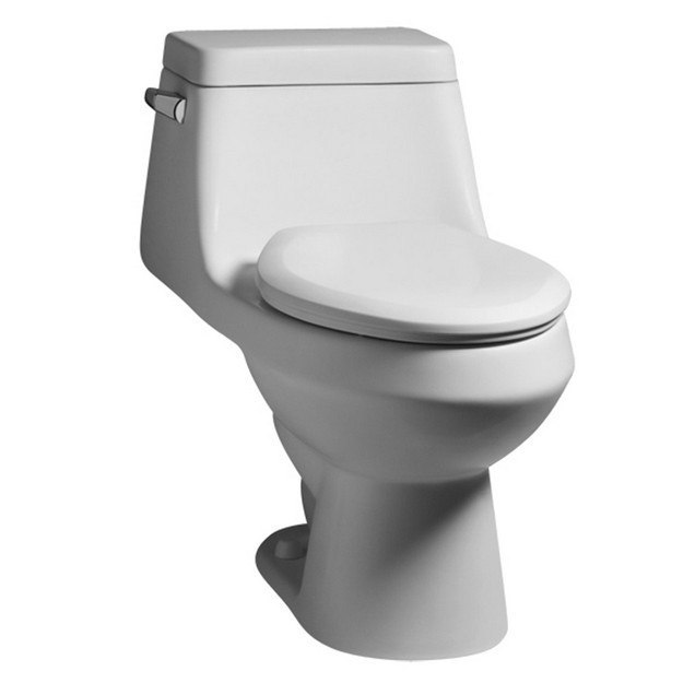 American Standard 2862.056.020 Fairfield Elongated One-Piece 1.6 GPF Toilet with Seat