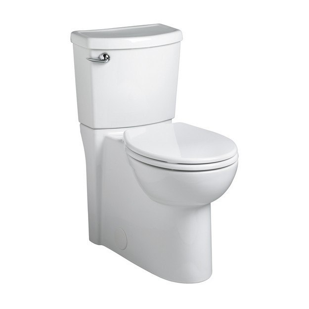 American Standard 2988.101.020 Cadet 3 Flowise Right Height Round Front Concealed Trapway 1.28 GPF Toilet