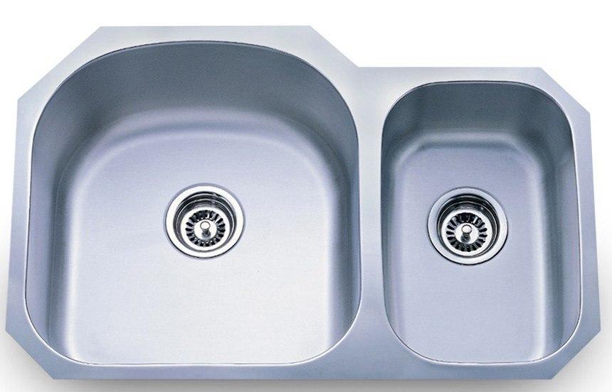 Dowell USA 6001 3120 Undermount Series 31 Inch Undermount Kitchen Sink - 18 Gauge