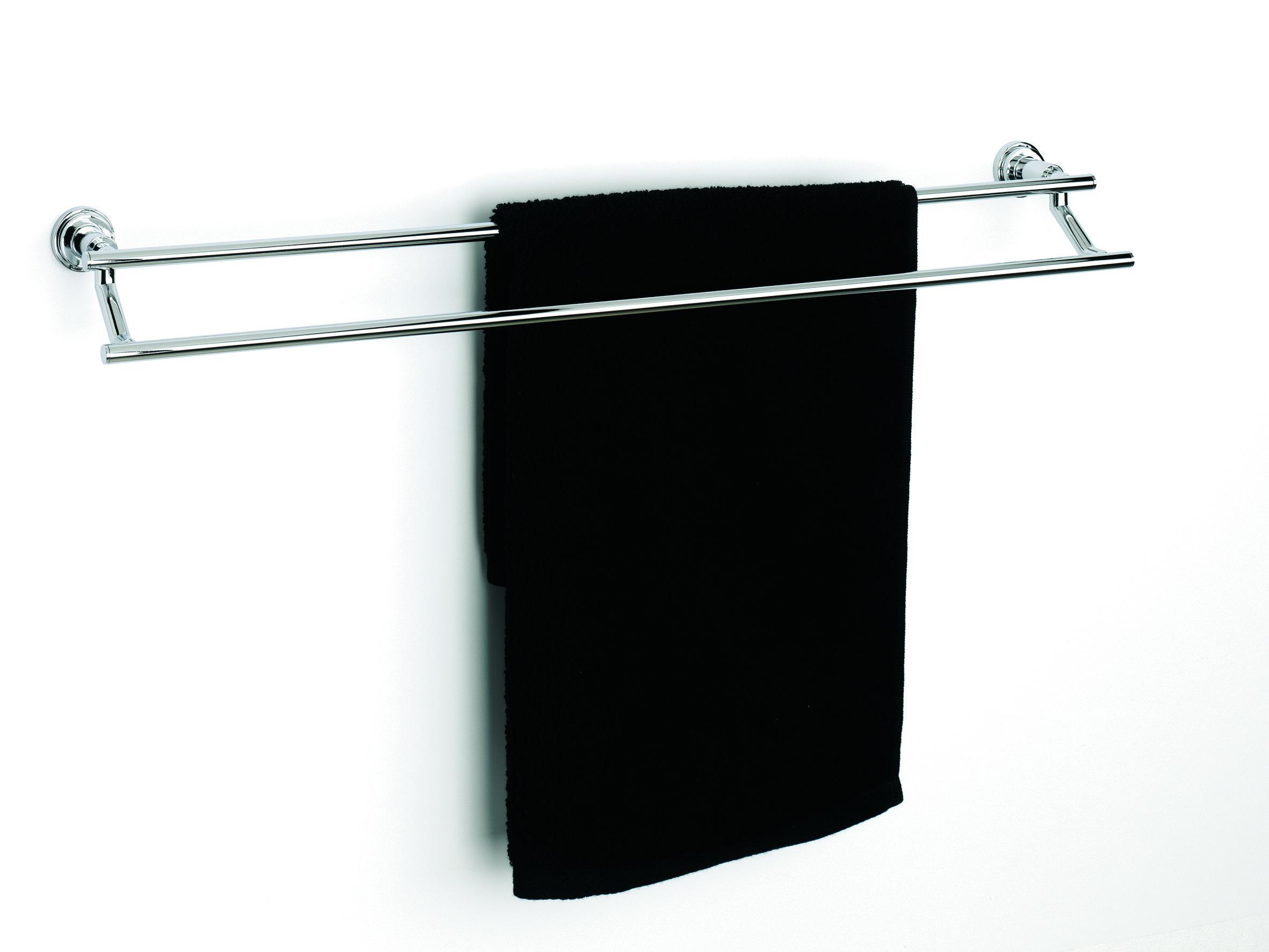Sonia SA098644 Dynamic 24 Inch Double Towel Bar - Chrome