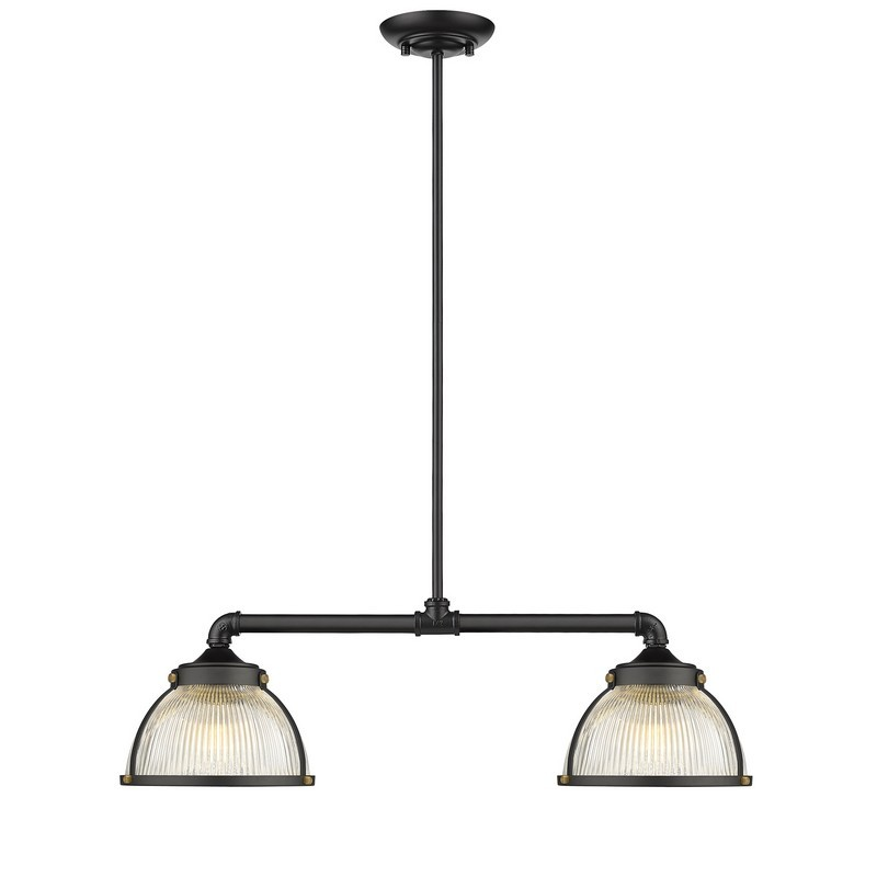 OVE DECORS 15LPE-EXET27-PBLKY EXETER 2-LIGHT PENDANT IN BLACK