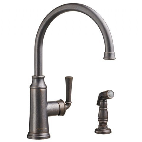 AMERICAN STANDARD 4285.051 PORTSMOUTH 1-HANDLE HIGH-ARC KITCHEN FAUCET WITH SIDE SPRAY