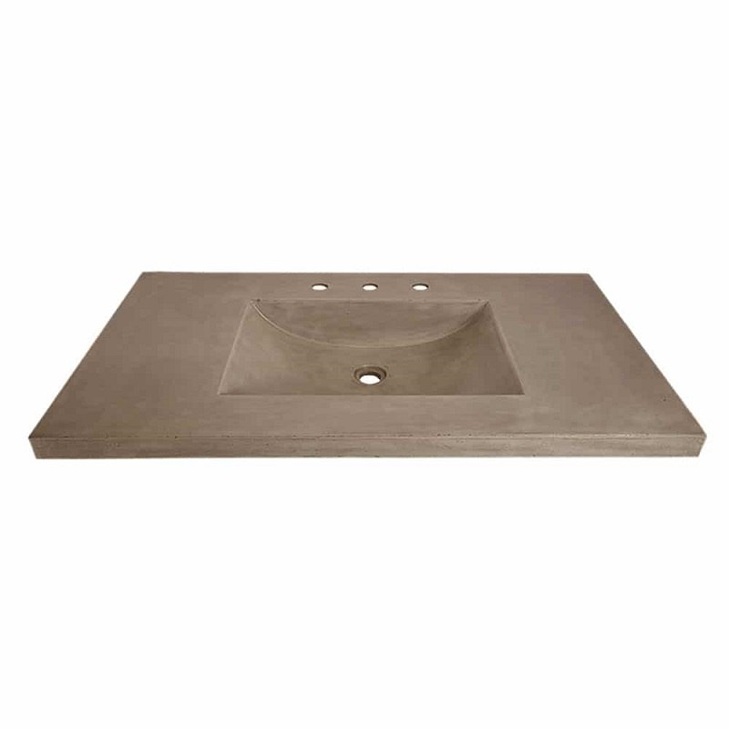 Native Trails Nsvnt30 A1 Palomar 30 Inch Vanity Top With Integral Sink Single Faucet Hole Native Trails Nsvnt30 E1