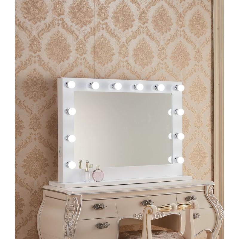 Paris Mirrors Hmir40286000d Wht, 40 X 60 Vanity Mirror