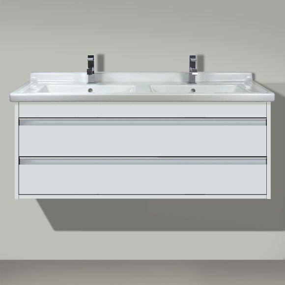 Duravit KT6646 Ketho 47 1/4 X 18 1/4 Inch Double