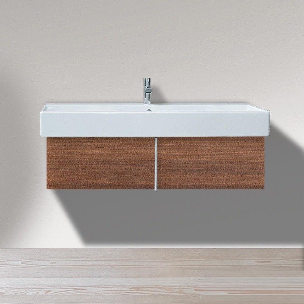 duravit ve6108 vero 45 1 4 x 16 7 8 inch vanity unit wall mounted for vero 045412 washbasin. Black Bedroom Furniture Sets. Home Design Ideas