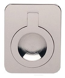 OMNIA 9588 SERIES CABINET HARDWARE MODERN RECTANGULAR DROP RING