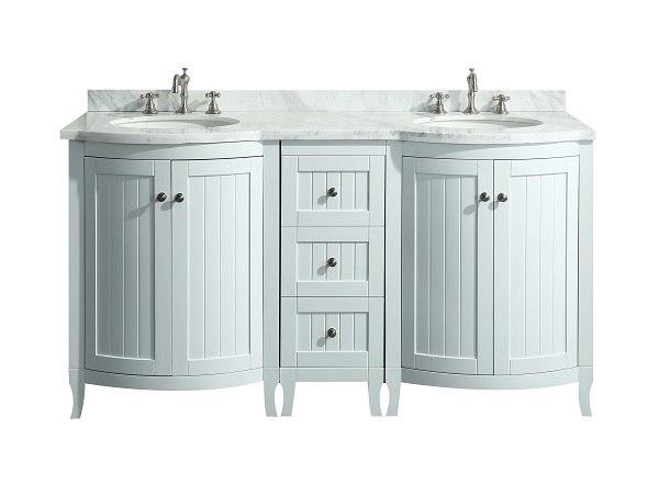 Odessa Zinx 60 Inch Bathroom Vanity