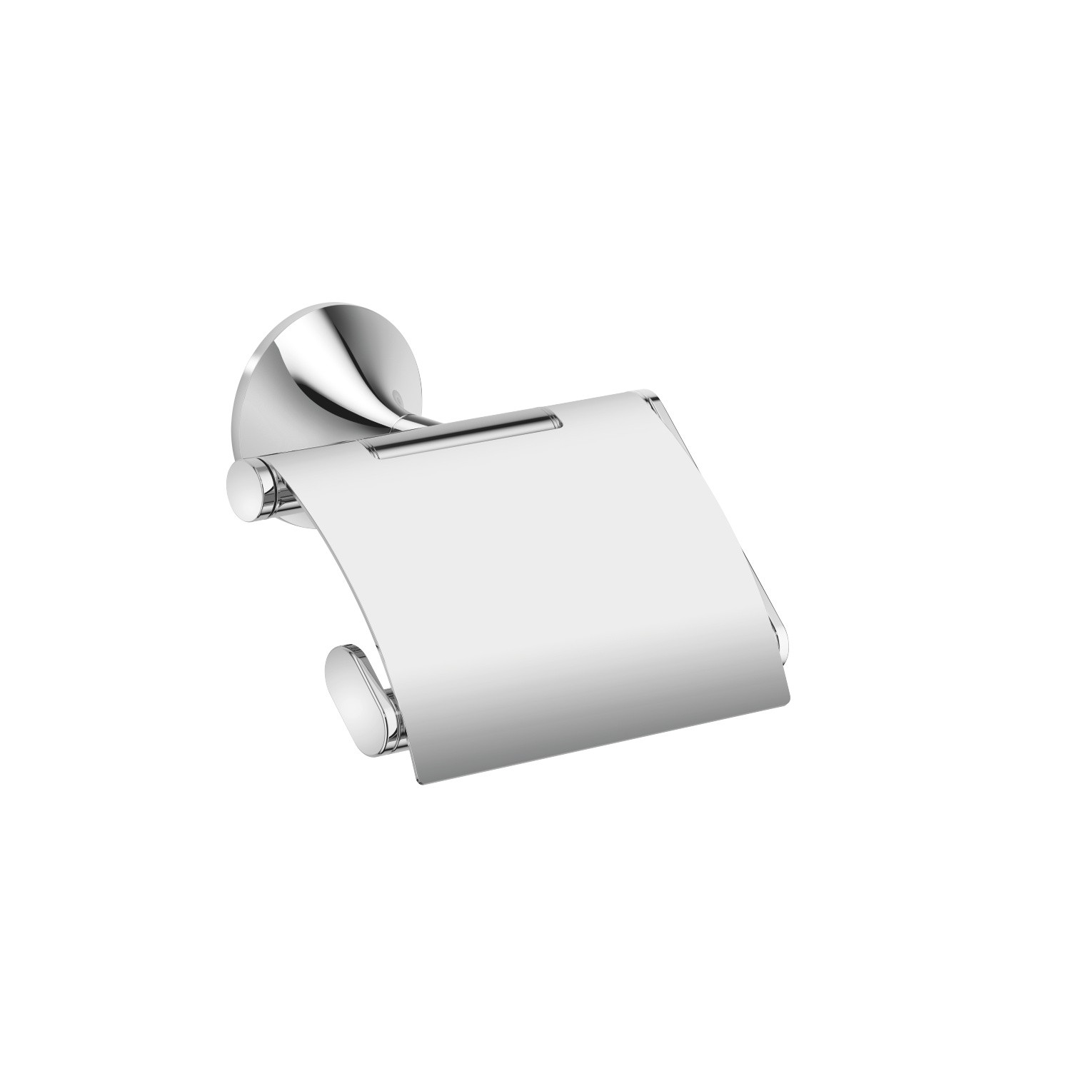Dornbracht 83510809 Vaia 5 1 8 Inch Wall Mount Toilet Paper Holder With Cover 83510809 00 83510809 06 83510809 16