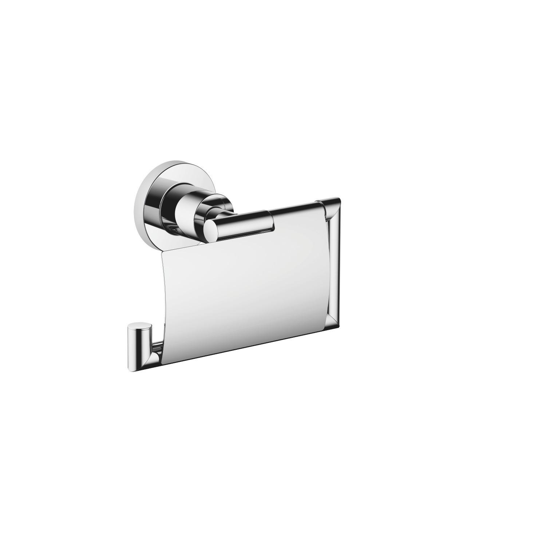 Dornbracht 83510892 Tara 6 Inch Wall Mount Toilet Paper Holder With Cover 83510892 00 83510892 06 83510892 08