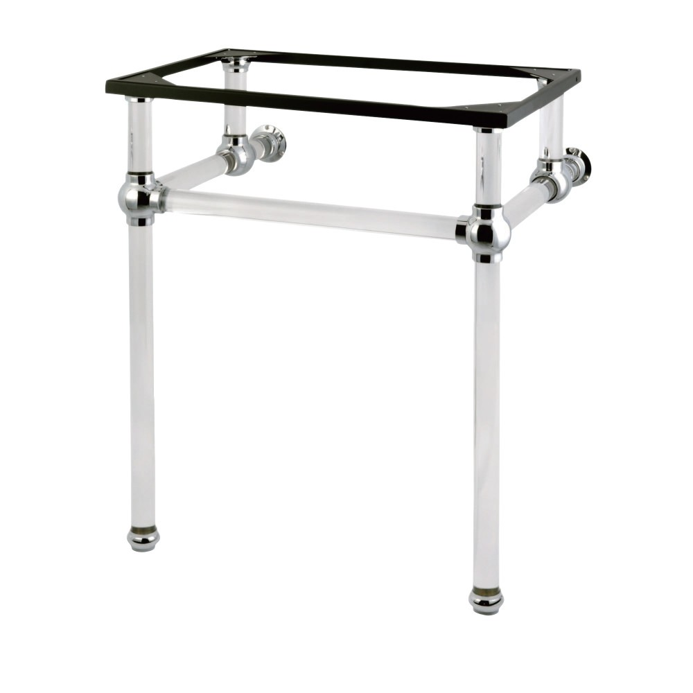 KINGSTON BRASS VAH242030C FAUCETURE TEMPLETON CONSOLE BASIN HOLDER WITH ACRYLIC PEDESTAL