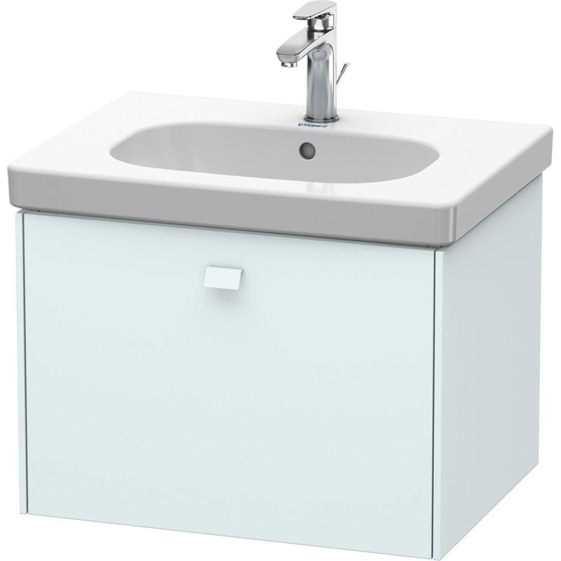 Duravit Br404500909 Brioso 24 3 8 X 18 1 2 Inch Wall Mounted Vanity Unit Light Blue Matt