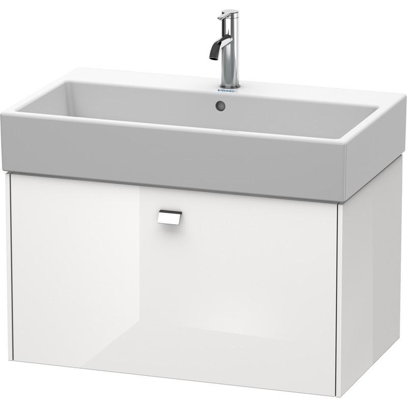 Duravit Br405501022 Brioso 30 7 8 X 18 1 8 Inch Wall Mounted Vanity Unit White High Gloss Decor