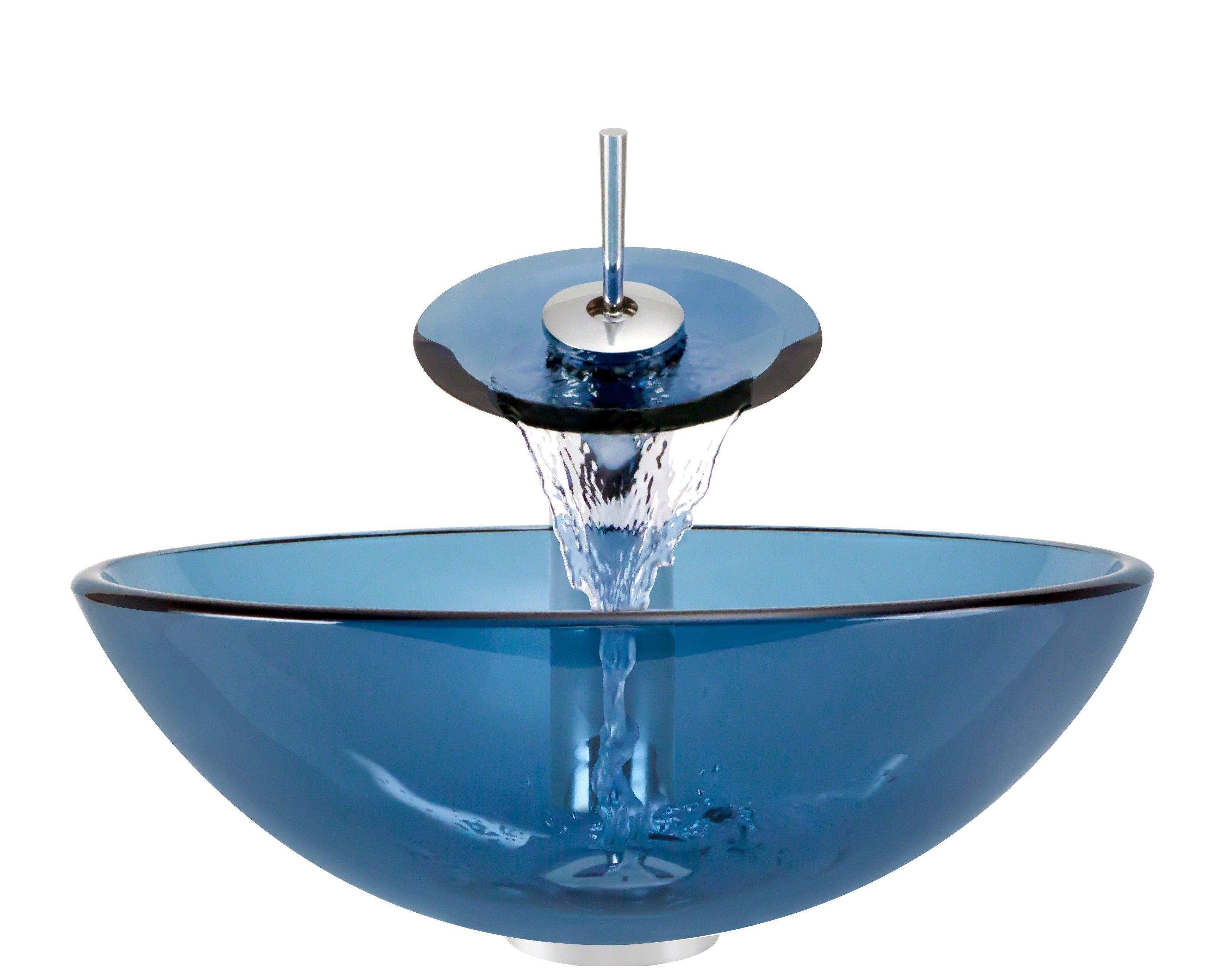 Polaris P106a Wf 16 1 4 Inch Aqua Bathroom Waterfall Faucet
