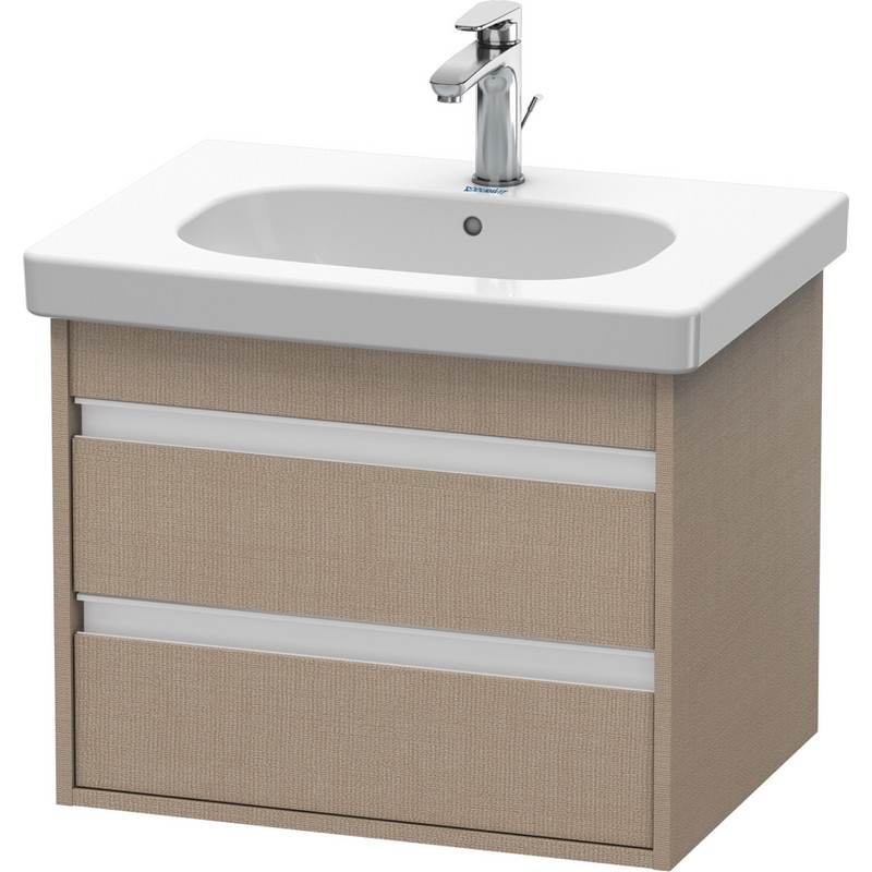 Duravit Kt665009191 Ketho 23 5 8 X 17 7 8 Inch Vanity Unit Wall Mounted For D Code 034265 Washbasin Duravit