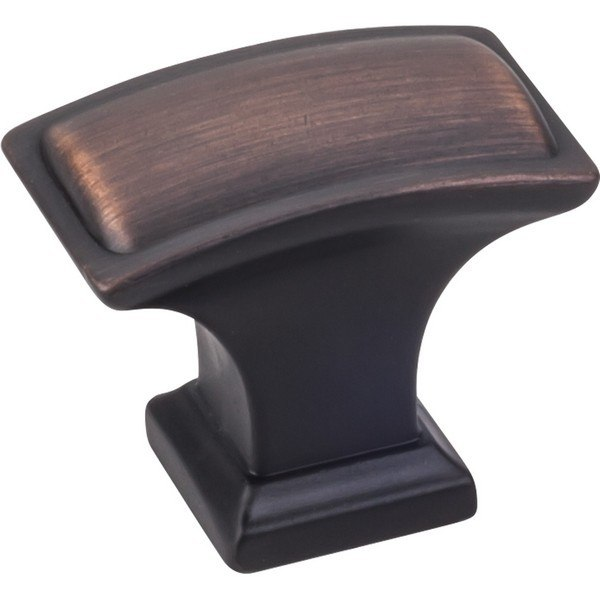 HARDWARE RESOURCES 435L JEFFREY ALEXANDER ANNADALE COLLECTION 1-1/2 INCH OVERALL LENGTH PILLOW CABINET KNOB