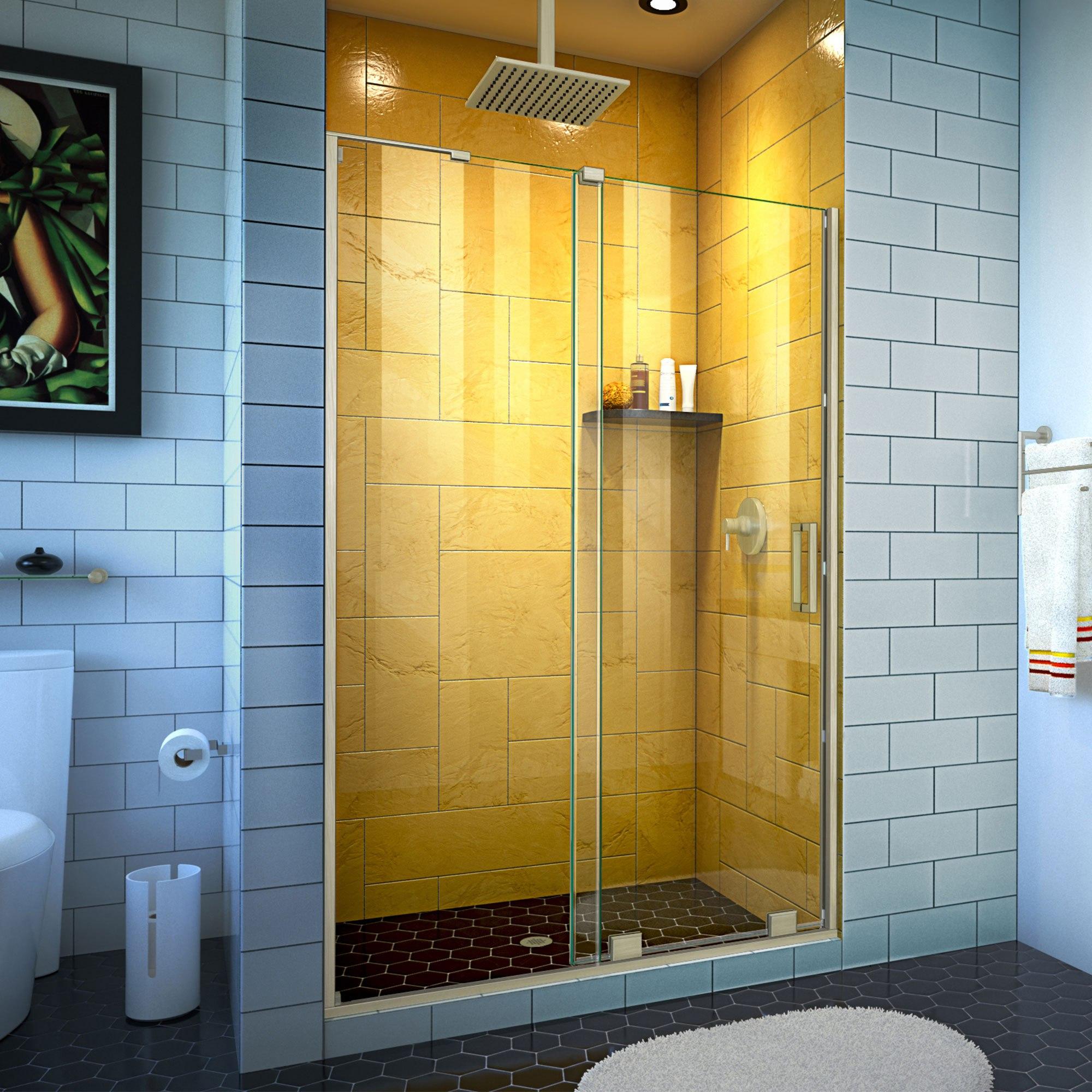 Dreamline Shdr 1948724 Mirage Z 44 48 Inch W X 72 Inch H Frameless Sliding Shower Door