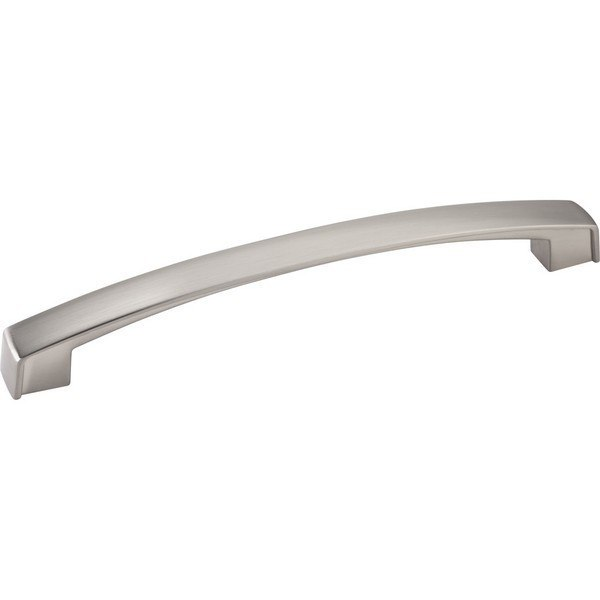 HARDWARE RESOURCES 549-160 JEFFREY ALEXANDER MERRICK COLLECTION 6-3/4 INCH OVERALL LENGTH CABINET PULL