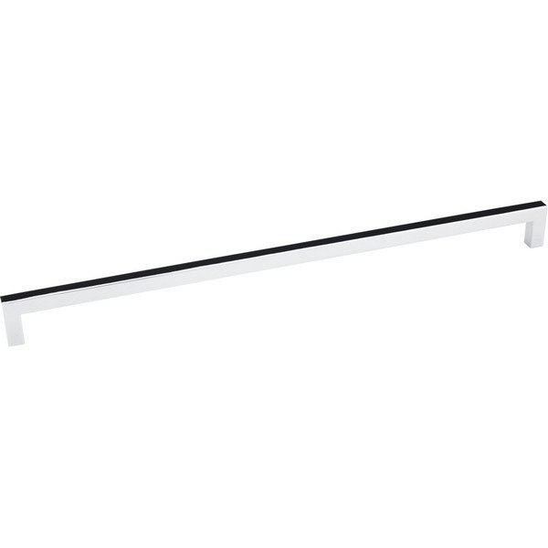 HARDWARE RESOURCES 625-320 ELEMENTS STANTON COLLECTION 329MM OVERALL LENGTH SQUARE BAR PULL