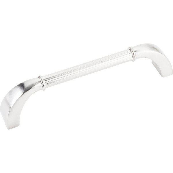 HARDWARE RESOURCES Z281-128 JEFFREY ALEXANDER CORDOVA COLLECTION 5-7/16 INCH OVERALL LENGTH CABINET PULL