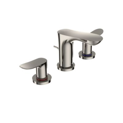 Toto Tlg01201u Pn Go Two Handle Widespread 1 2 Gpm Bathroom Sink Faucet Polished Nickel