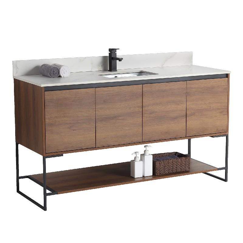 Inch Leg Mount Single Bath Vanity, 59 Bathroom Vanity Single Sink