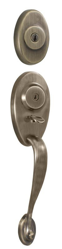 01343 N 002d Lexington Series Single Cylinder Entry Handle Set From Traditionale Collection 01343 1 002d Lexington