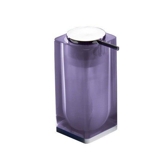 GEDY 7381-79 ICEBERG SQUARE COUNTER SOAP DISPENSER