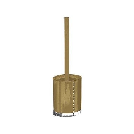 GEDY 7433 DIAMONDS TOILET BRUSH HOLDER WITH CRYSTALS