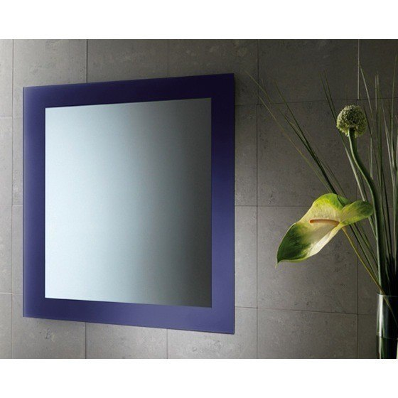 GEDY 7800-05 MAINE 24 X 28 INCH VANITY MIRROR WITH LACQUERED FRAME
