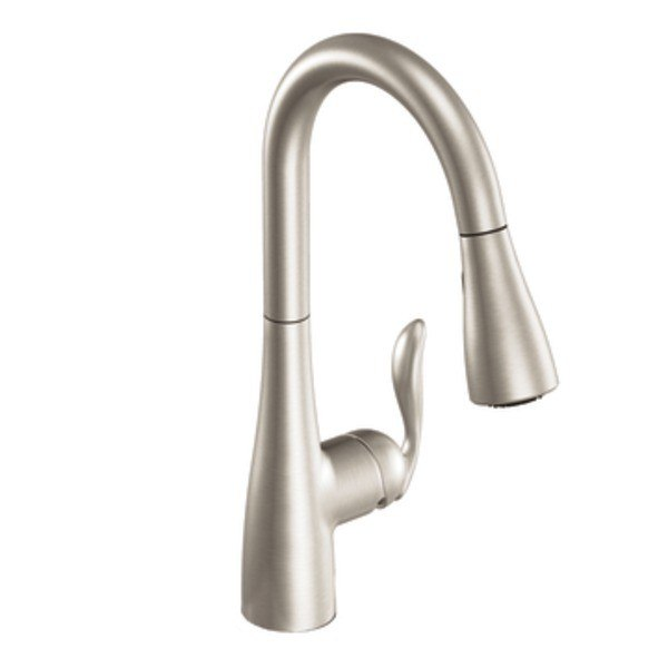 Moen 7594srs Arbor One Handle High Arc Pulldown Kitchen Faucet Spot Resist Stainless