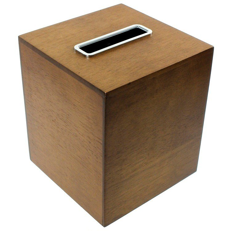 GEDY PA02-31 PAPIRO TISSUE BOX MADE FROM WOOD