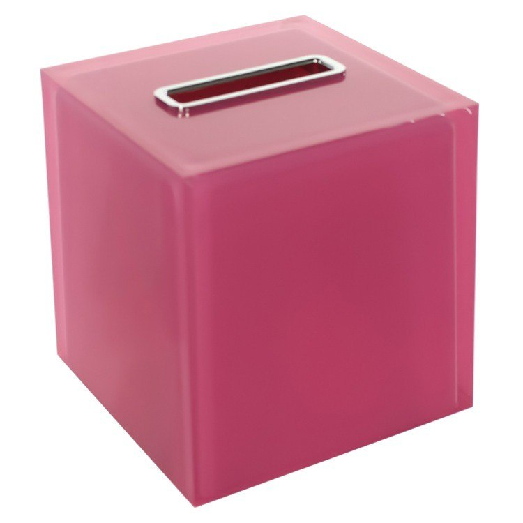 GEDY RA02-76 RAINBOW THERMOPLASTIC RESIN SQUARE TISSUE BOX COVER