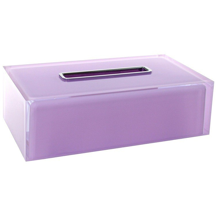 GEDY RA08-79 RAINBOW THERMOPLASTIC RESIN SQUARE TISSUE BOX COVER