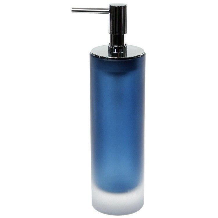 GEDY TI80-05 TIGLIO FREE STANDING SOAP DISPENSER IN GLASS