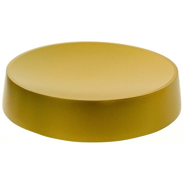 GEDY YU11-87 YUCCA FREE STANDING ROUND SOAP DISH IN RESIN