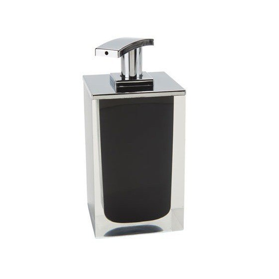 GEDY RA82-14 RAINBOW SQUARE SOAP DISPENSER MADE FROM RESIN
