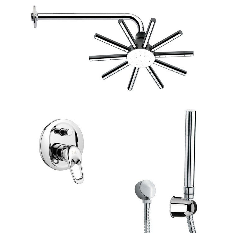 REMER SFH6549-14 PRIMAVERA SHOWER FAUCET WITH HAND SHOWER