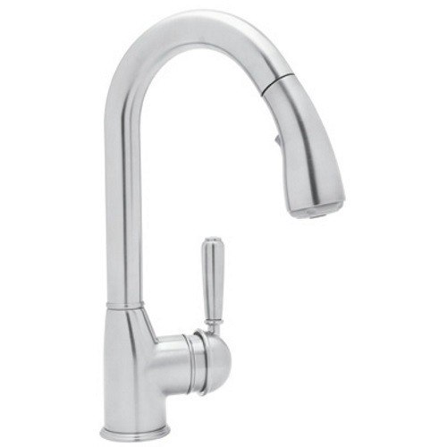 Rohl R7504lm 2 Classic Pull Down Single Hole Kitchen Faucet With Metal Lever