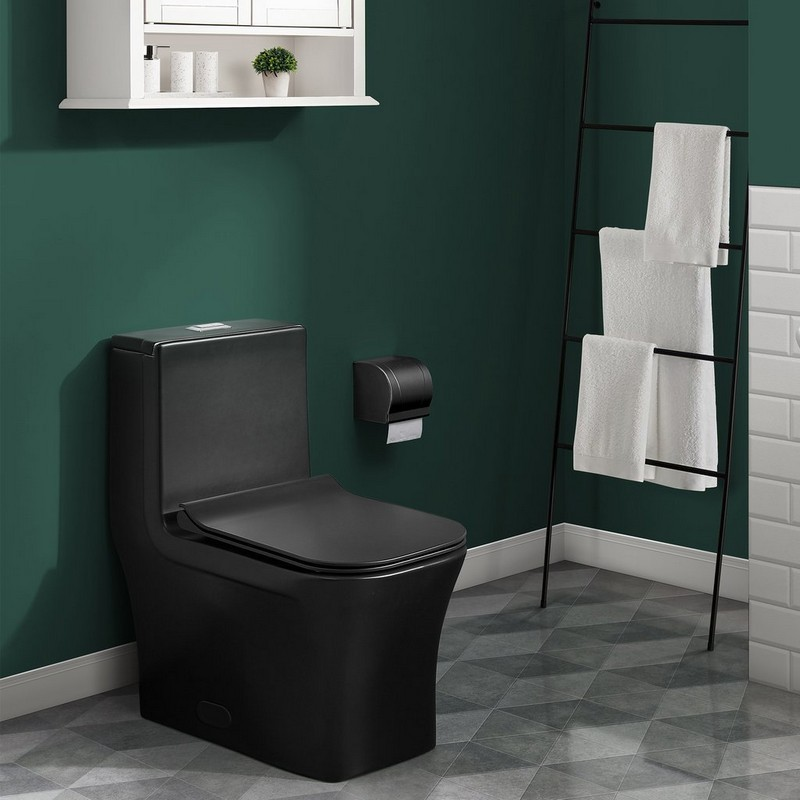 square toilet